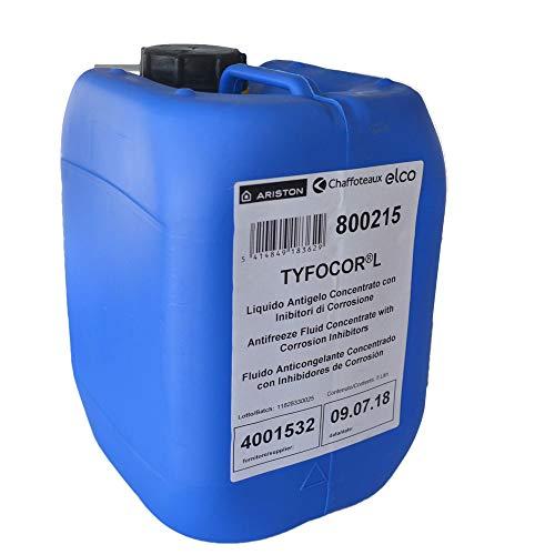 Líquido anticongelante concentrado con inhibidores de corrosión. Garrafa de 5 litros