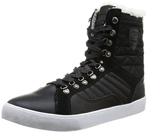 Kaporal  Giskan,  Sneaker uomo Nero Noir (8 Noir) 42