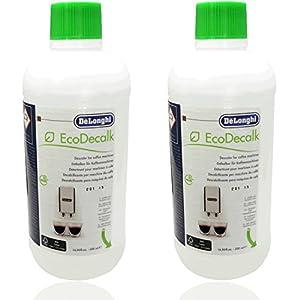 2x DeLonghi EcoDecalk 500ml DLSC500