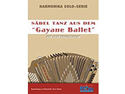 Harmonika Solo-Serie: Säbel Tanz aus Gayane Ballet, Bearb: Doris Reiter