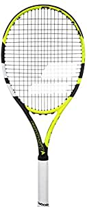 "Babolat Boost Aero Tennis Racquet (Strung), Grip Size - 43/8"" (Yellow Black White)"