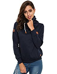 StyleDome Winter Damen Hoodies Pullover Langarm Jacke Top Sweatshirt Pullover Tops Jumper