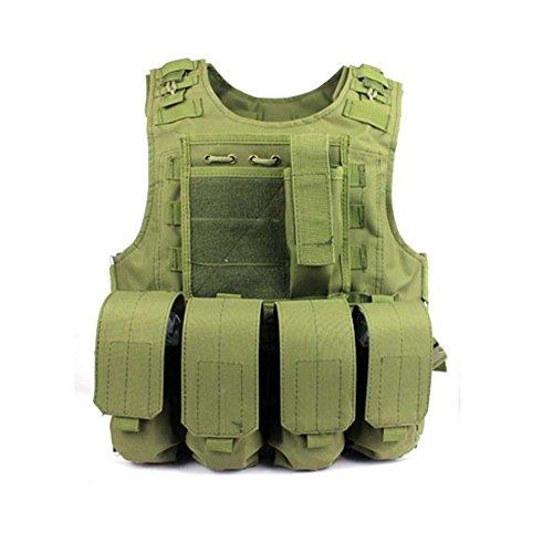 GITVIENAR Weste Amphibisch Taktische Jacket Outdoor Kleidung Atumgsaktive leichte Weste