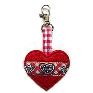 Taschenanhänger Taschenbaumler Herz-Anhänger