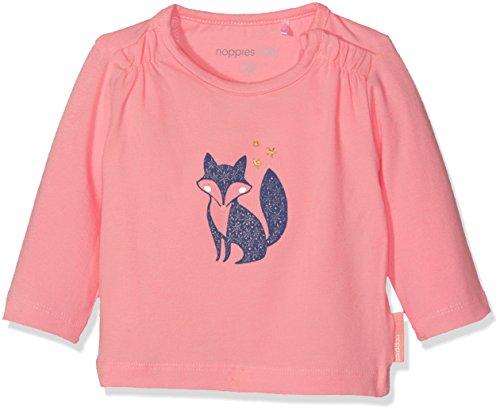 Noppies Baby-Mädchen Langarmshirt G Tee Ls Hayard, Medium Pink, 68