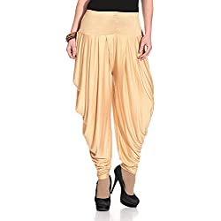 Isabella Dhoti Pants for Women (Chiku)