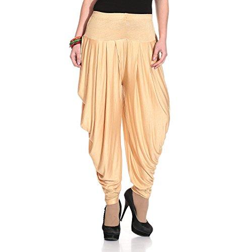 Isabella Dhoti Pants for Women (Chiku)