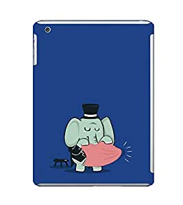 EPICCASE Funny elephant Mobile Back Case Cover For Apple Ipad Mini 2 (Designer Case)