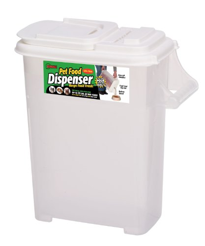 Buddeez 16qt 'Bag-In' Pet Food Dispenser -Holds Up To 12lbs-