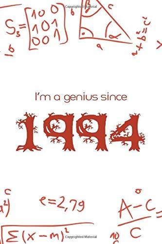 I'm a genius since 1994 : Maths