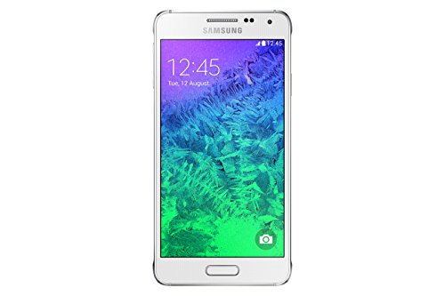Samsung Galaxy Alpha Smartphone (4,7 Zoll (11,9 cm) Touch-Display, 32 GB Speicher, Android 4.4) weiß - Display Alpha Samsung