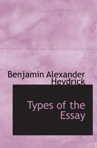 Types of the Essay