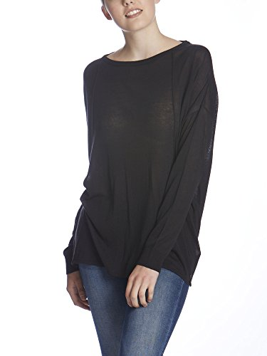 Bench Damen Langarmshirt CANVASS,, ,, , Gr. Medium, Schwarz (Black BK014)