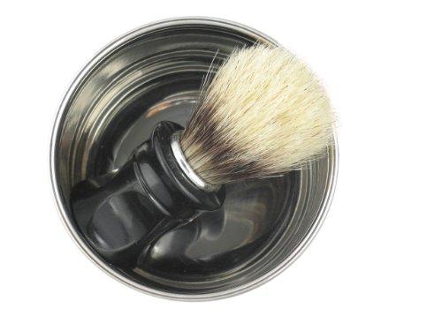 Rasiermesser-Set mit Paste aus Solingen, Rasierschale, Rasierpinsel, Streichriemen Abbildung 2