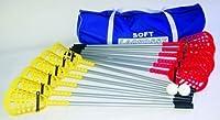 OSG - Lacrosse Beginner Level Bodenspiel weicher Lacrosse Ersatz-Stock & Ball im Einzelverkauf - Einheitsgröße, Stöcke.