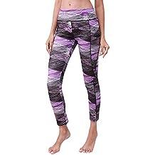 Leggins Mujer Pantalones Yoga Mujeres,Naturazy Leggins Pantalones EláSticos Deportivos Pantalones Mujer Leggings Cintura Media