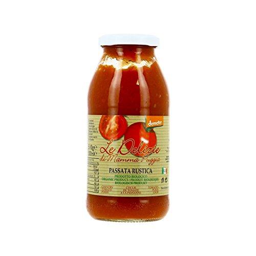 Le Delizie Di Mamma - Coulis De Tomate À La Paysanne 510G Bio - Lot De 4 - Livraison Rapide En France - Prix Par Lot