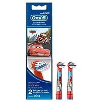 Oral-B Stages Çocuklar İçin Diş Fırçası Yedek Başlığı, Cars, 2 Adet