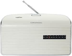 Grundig Music 60 Empfangsstarkes Radio Im Modernen Design White Silver Audio Hifi