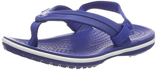 Crocs Unisex-Kinder Crocband Strap Flip Zehentrenner, Blau (Blue Jean 4gx), 29/30 EU -