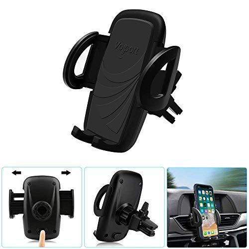 Volport Handy Halterung Auto Lüftung, Universal 360 Grad Verstellbar KFZ Halter Smartphone Handyhalterung für iPhone XS Max XR X 8 8 Plus 7 , Samsung Galaxy Note 9 S9 8 S8 7 S7, Huawei, Sony, LG