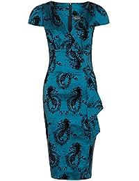 Voodoo Vixen - Robe - Femme bleu bleu