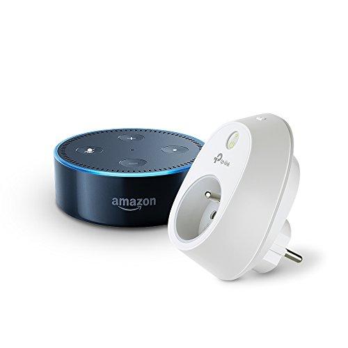 Amazon Echo Dot + Prise connectée Wi-Fi TP-Link