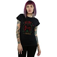 Desconocido AC/DC Mujer Christmas For Those Camiseta