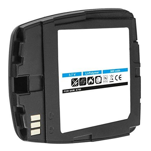 Akku-King Akku für Samsung SGH-E760, E758, E768 - ersetzt BST5208BE schwarz Li-Polymer