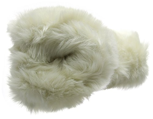 Lazy Dogz - Poppy, Pantofole Donna Bianco (Bianco (White))