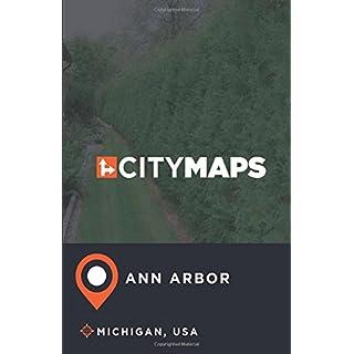 City Maps Ann Arbor Michigan, USA