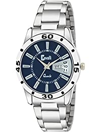 Cavalli Analogue Blue Dial Stainless Steel Day & Date Women'S And Girl'S Watch (Cs0603)