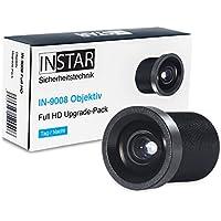 INSTAR 8mm Objektiv IN-9008 Full HD/IP Kamera/Überwachungskamera/Objektiv/Zubehör/Mehr Details auf Weitere Entfernung/Tele/S-mount/M12xP0.5