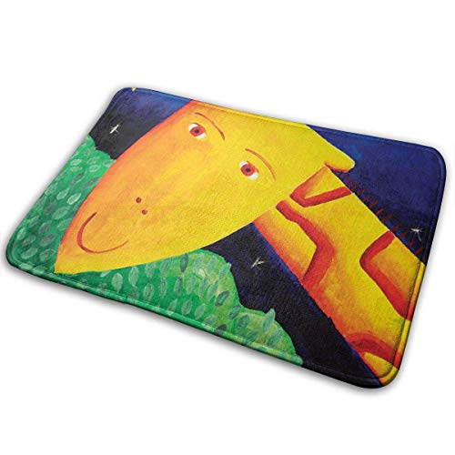 QuGujun Wholesale Towels Cartoon Rainbow Love Dog Paw Print Bath Mat Non Slip Absorbent Super Cozy Velvet Bathroom Rug Carpet Bath Rugs -