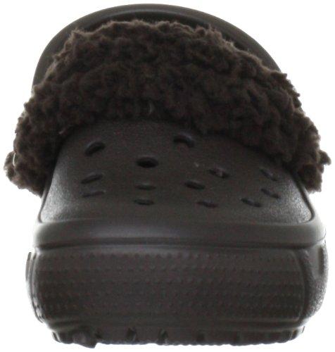 crocs Mammoth EVO Kids 12879, Sabot bambina Marrone (Espresso)