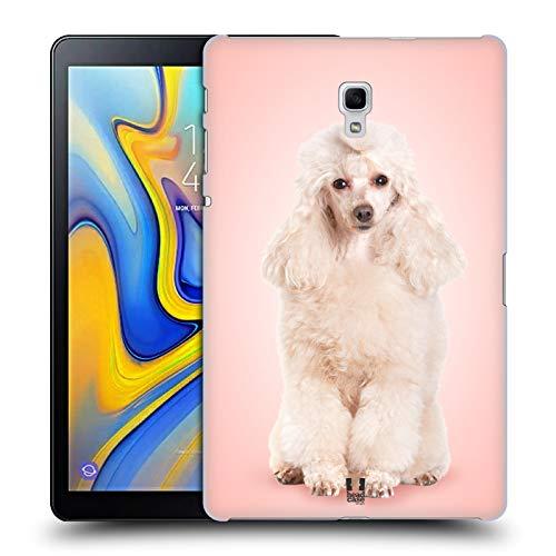 Head Case Designs Pudel Portrait Hunderassen Harte Rueckseiten Huelle kompatibel mit Samsung Galaxy Tab A 10.5 (2018) -