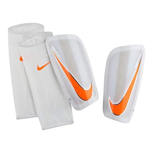 Nike INTERNATIONAL Mercurial Lite Schienbeinscho Größe XS Weiss-orange