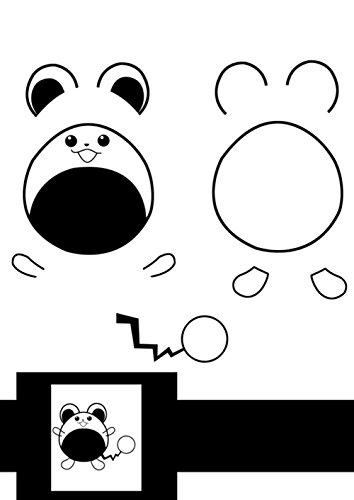Starworld 3d-Schablonen, 3d, Bücher für Doodle-Muster, mit transparenten, Geschenk für Kinder (20VERSCHIEDENEN 40Blatt Muster, verschiedene Designs) - 3