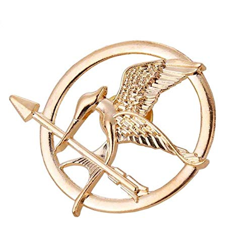 Zonster The Hunger Games Film Mockingjay Prop Rep Pin (Hunger Games Dekorationen)