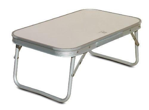 Yinmake Mini Aluminium Faltbar Camping Tisch Laptop Bett Schreibtisch  Höhenverstellbar 60 X 40,5 X ...