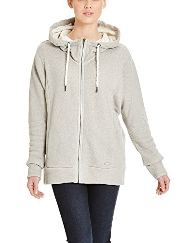 Bench Damen Strickjacke GAIN, Gr. X-Small, Grau (Mid Grey Marl GY001X)