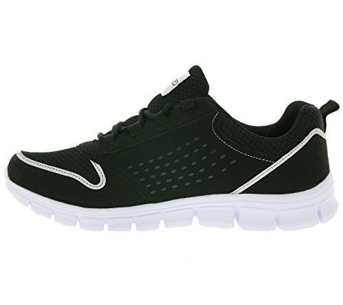 Kappa Amora Footwear Unisex, Baskets Basses Mixte Adulte Schwarz