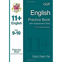 11+ English Practice Book with Assessment Tests Ages 9-10 (for GL & Other Test Providers) (CGP 11+ GL)