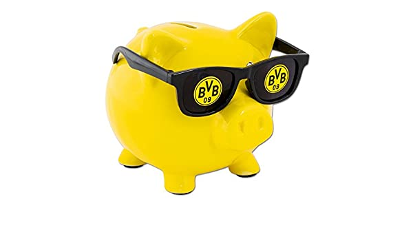 Unbekannt 'Borussia Dortmund Sound Tirelire avec lunettes de soleil–Plus GRATUIT Marque-page I Love Dortmund
