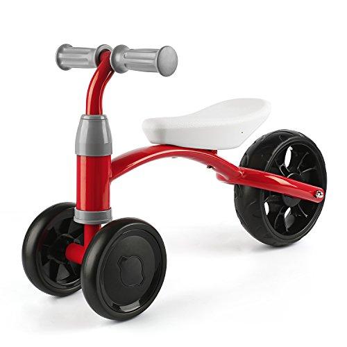 OUTAD Bici per l'apprendimento, Bicicletta Bambini Senza Pedali per Piccolo Avventuriero Triciclo