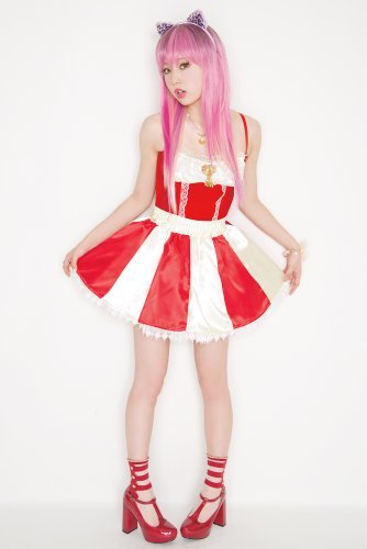LLL Candy Cane skirt Apple (japan import) (Apple Candy Kostüme)
