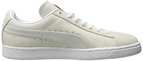 Puma Classic Lo Winterized Femmes Daim Baskets Vaporous Gray-White