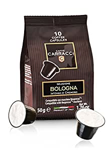 Caffè Carracci, Capsule Compatibili Nespresso, Intensità 9-100 Capsule
