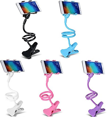 Kboom Flexible 360? Snake Style Stand for Apple iPhone/Samsung/Android Mobiles Long Lazy Mobile Holder  available at amazon for Rs.149