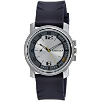 Fastrack Analog Silver Dial Men's Watch-3039SP01